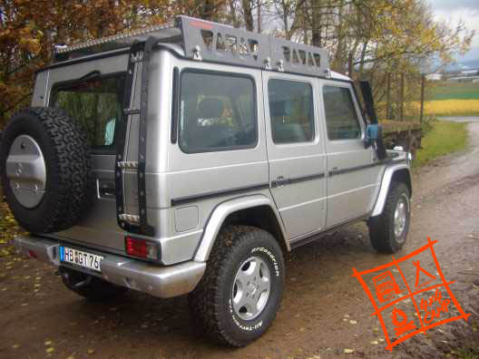 4x4CAMP Dachtraeger Roofrack spacePACK 4x4CAMP Mercedes G