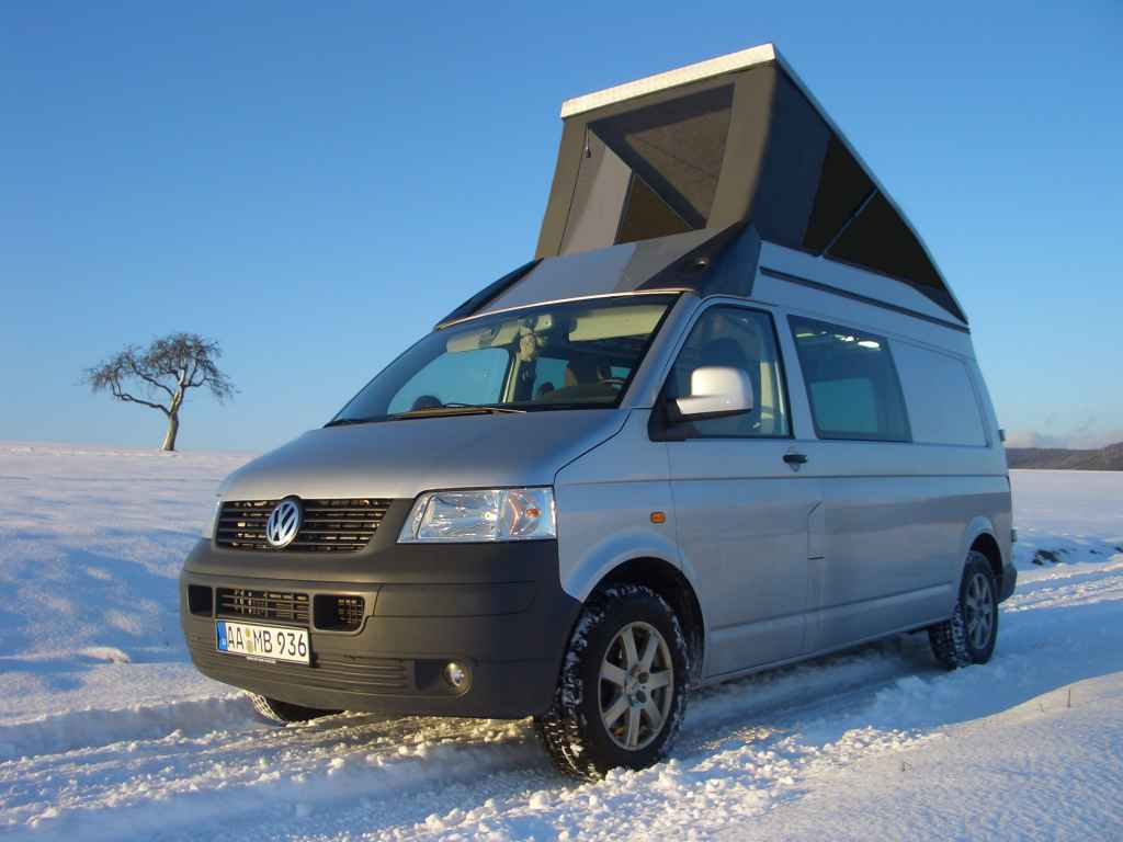 Aufstelldach Hubdach 4x4CAMP SpaceCAB VW T5