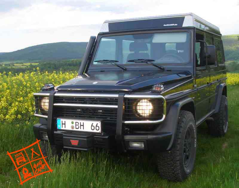 4x4CAMP Aufstelldach Hubdach_Mercedes G SpaceCAB SF